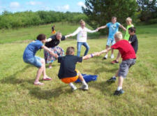 Games at Vaction Bible School